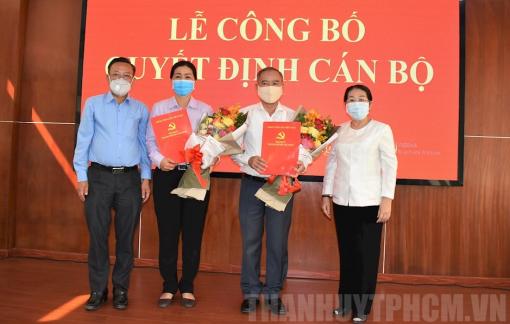 TPHCM bổ nhiệm nhiều cán bộ lãnh đạo