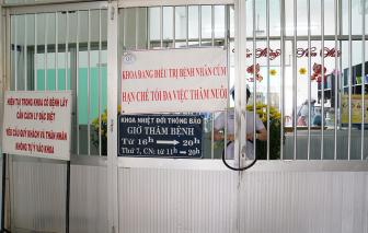 Bệnh viện Chợ Rẫy TPHCM tạm ngưng hoạt động 4 khoa để chống dịch COVID-19