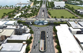 Đà Nẵng khởi công nút giao thông 3 tầng hơn 723 tỉ đồng