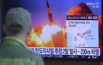 Triều Tiên lại thử tên lửa khi thế giới đang dồn sức chống dịch COVID-19