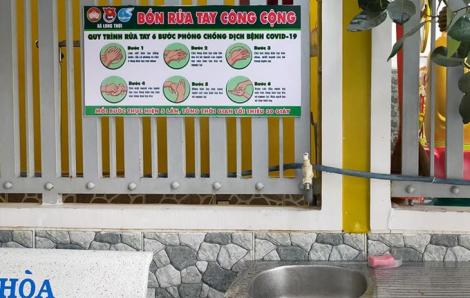 Ai muốn rửa tay, xin mời!