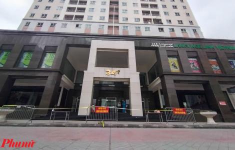 Hà Nội: Phong tỏa một chung cư có 800 người