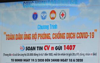 Hơn 100 tỷ đồng ủng hộ phòng, chống COVID-19 qua Cổng Nhân đạo 1407