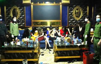 """Khởi tố 1 bị can vụ 76 người """"bay lắc"""" trong quán karaoke giữa dịch COVID-19"""