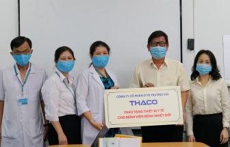 THACO tài trợ thiết bị y tế hơn 3,6 tỷ đồng hỗ trợ phòng chống dịch bệnh COVID-19