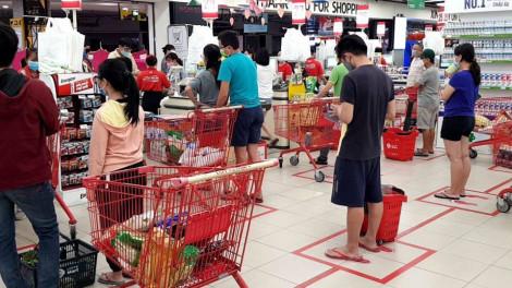 Cách ly toàn xã hội, siêu thị, chợ, cửa hàng tiện lợi vẫn mở cửa bình thường