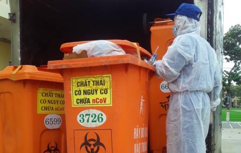 Chất thải nơi điều trị người nhiễm COVID-19 được xử lý ra sao?
