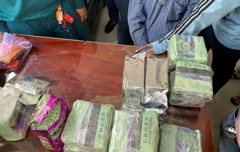 Phá đường dây buôn ma túy xuyên biên giới trong mùa dịch COVID-19