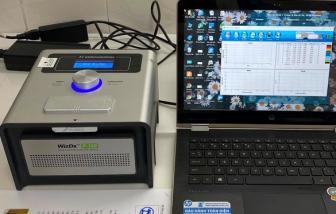 Máy xét nghiệm SARS-CoV-2 do Bộ Y tế cấp cho tỉnh Quảng Bình không sử dụng được