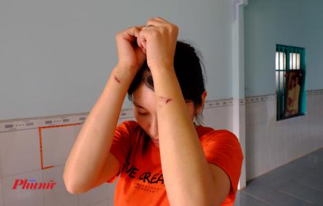 Một thai phụ bị nhiều người hành hung dã man