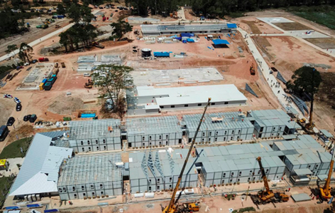 Indonesia xây dựng bệnh viện điều trị COVID-19 trên đảo không có người ở