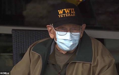 Cựu binh Thế chiến II trở thành người cao tuổi nhất vượt qua COVID-19