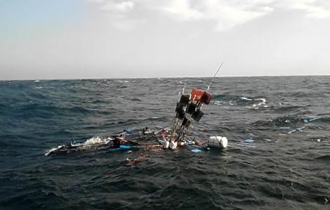 Tàu cá của ngư dân Quảng Ngãi bị tông chìm ở Hoàng Sa