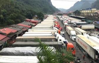 Trung Quốc không cho lái xe từ TPHCM, Hà Nội, Đà Nẵng…  chở hàng qua biên giới