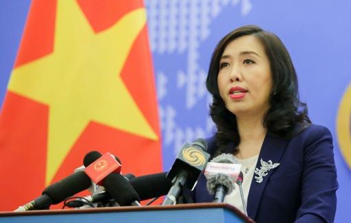 Việt Nam yêu cầu Trung Quốc  xử lý nghiêm tàu hải cảnh xâm phạm chủ quyền của Việt Nam