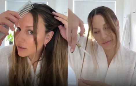 Clip: Hướng dẫn tự tỉa tóc tại nhà