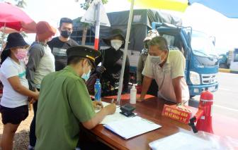 Quảng Nam sẽ hỗ trợ kinh phí cho người từ vùng dịch trở về