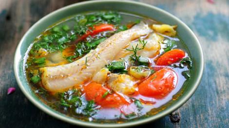 Mùi nhớ - Mát lành cá cháo nấu me