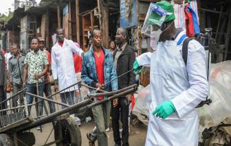 Số ca nhiễm SARS-CoV-2 ở châu Phi tăng gấp 6 lần trong vòng 2 tuần
