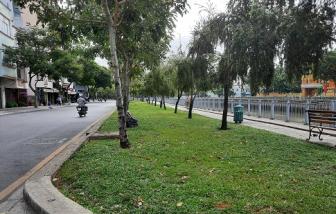 Xử lý nhiều trường hợp tụ tập đông người, không đeo khẩu trang đi dạo trên kênh Nhiêu Lộc