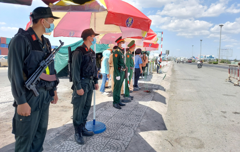 TPHCM tổng tấn công trấn áp tội phạm và xử lý vi phạm giao thông mùa dịch COVID-19