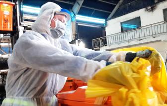 14 ngày cách ly, rác sinh hoạt giảm 20-30% công nhân vệ sinh có được nhẹ nhàng?