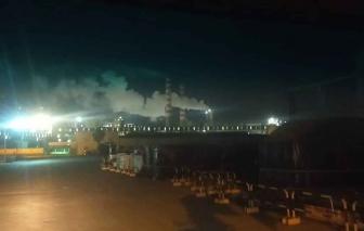 Chính quyền xã đề nghị Hòa Phát Dung Quất xử lý khí có mùi bay vào khu dân cư