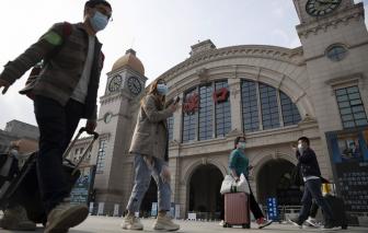 Thành phố Vũ Hán chấm dứt 76 ngày phong tỏa