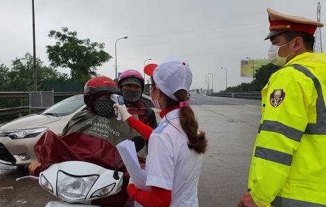 Thái Bình triển khai lực lượng chặn người từ Hà Nội, Quảng Ninh, TPHCM về địa phương
