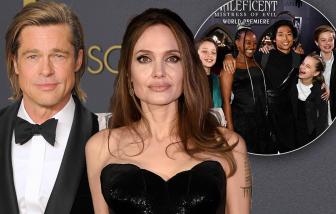 Angelina Jolie - Brad Pitt dừng cho con học tại nhà, đưa 5 trẻ đến trường