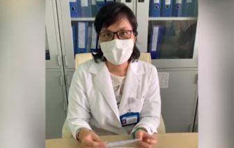 Bác sĩ Chợ Rẫy hướng dẫn làm dụng cụ giúp đeo khẩu trang không đau tai