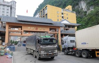 Đề nghị tạm dừng chuyển nông sản lên các cửa khẩu Lạng Sơn