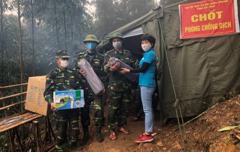 Sữa Cô Gái Hà Lan tiếp sức cho chiến sĩ biên phòng: Sự chung tay trên mọi mặt trận đẩy lùi COVID-19
