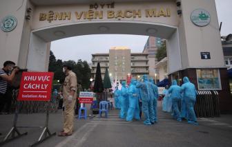 Gỡ phong tỏa Bệnh viện Bạch Mai vào ngày 12/4