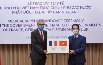 Việt Nam được cảm ơn vì giúp các nước chống dịch