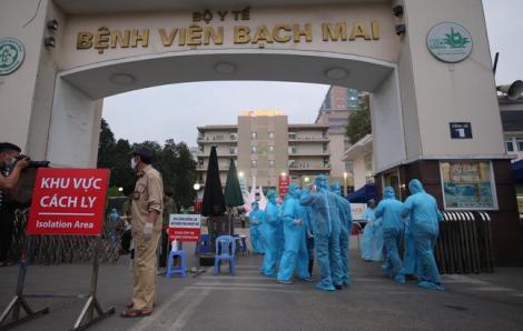 158 nhân viên y tế Bệnh viện Bạch Mai hết thời gian cách ly