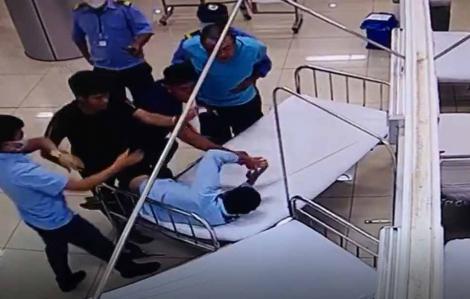 Bắt tạm giam nam thanh niên hành hung nhân viên bảo vệ bệnh viện rồi lái xe ô tô gây chết người