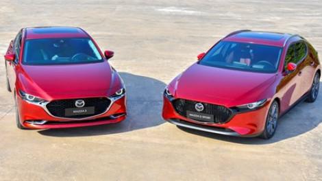 Xe Mazda của Thaco phải triệu hồi vì lỗi phanh