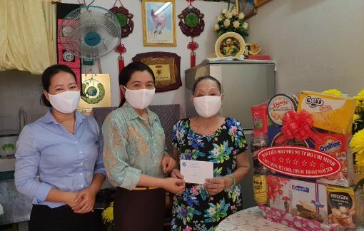 Chủ tịch Hội LHPN TP.HCM thăm và chúc Tết cổ truyền Chôl Chnăm Thmây
