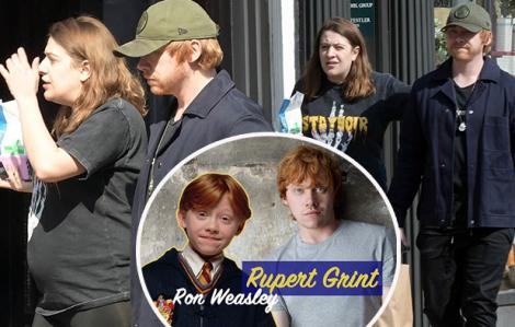 """Diễn viên """"Harry Potter"""" lên chức bố"""