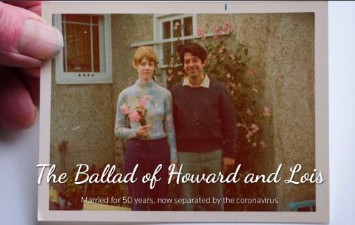 COVID-19 đẩy cặp vợ chồng 50 năm bên nhau đến bờ sinh ly tử biệt