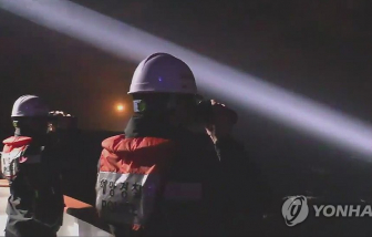 1 thuyền viên Việt Nam mất tích ngoài khơi Hàn Quốc
