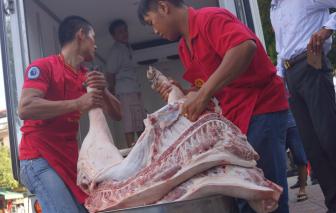 Càng kìm, giá thịt heo càng tăng mạnh