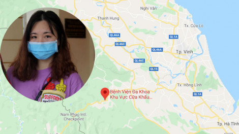 Cô gái 17 tuổi được chữa khỏi COVID-19, hứa quay lại bệnh viện biên giới làm tình nguyện viên