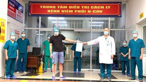 2 ca COVID-19 điều trị ở Quảng Ninh xuất viện, Việt Nam có 173 trường hợp khỏi bệnh