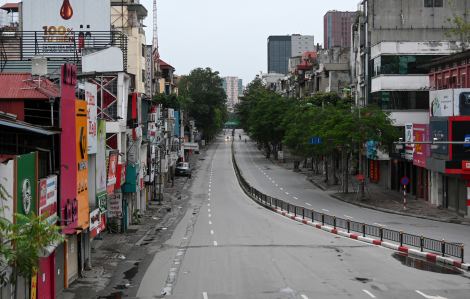 Hà Nội đề xuất tiếp tục cách ly xã hội hết tháng 4
