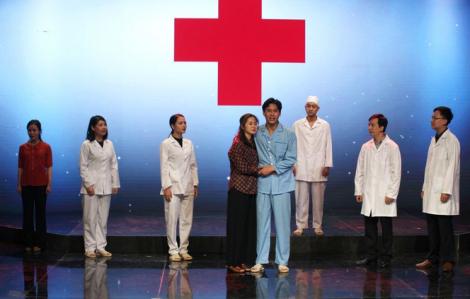 Tái diễn trích đoạn 2 vở kịch vinh danh ngành y của Lưu Quang Vũ