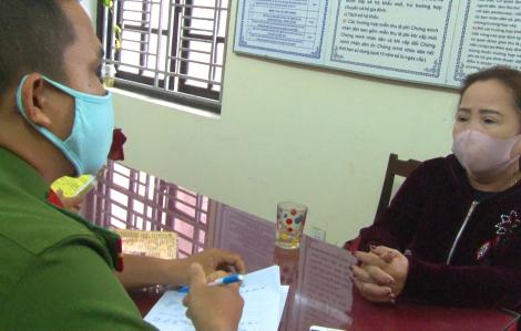 Bắt người phụ nữ vận chuyển 74kg thuốc nổ tại Huế