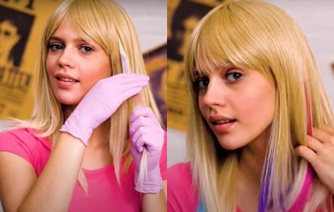Clip: Nhuộm tóc tại nhà bằng quả dâu, củ dền