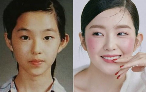 Hình ảnh thời thơ ấu xinh đẹp của mỹ nhân Irene